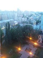 Институт Хирургии имени Вишневского. Отделение хирургии печени. Вид из окна