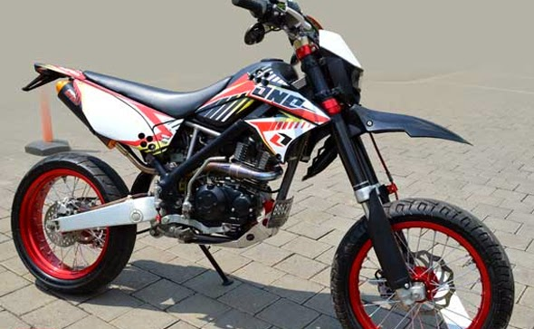 Gambar Modifikasi Motor Kawasaki Klx 150 Trail Foto  Auto Design Tech