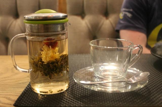 tea menu sakana manchester