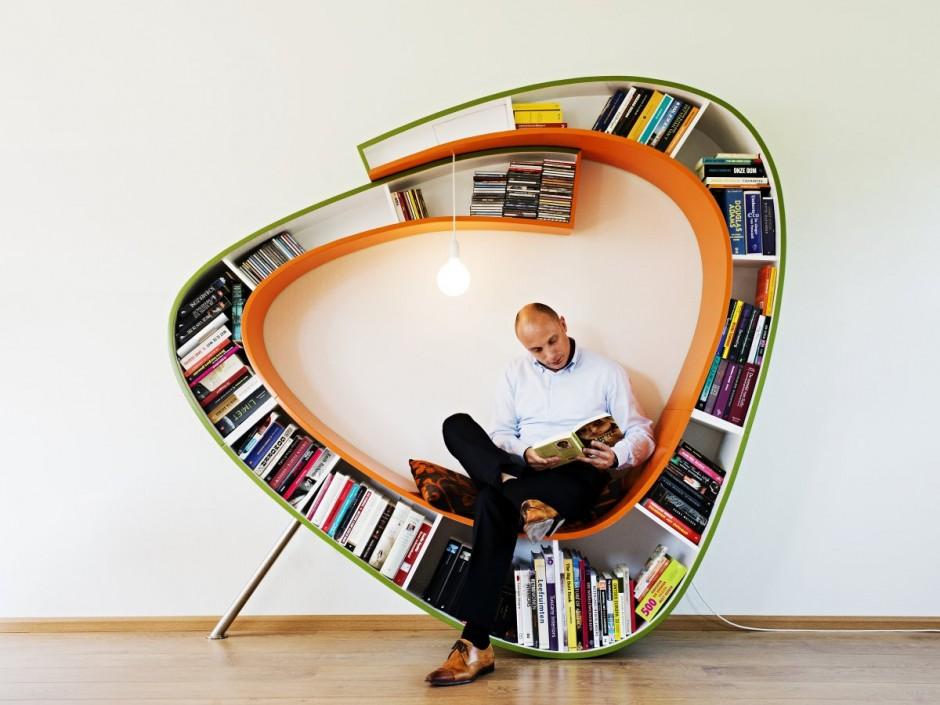 die wohngalerie bookworm von atelier 010 ein. Black Bedroom Furniture Sets. Home Design Ideas