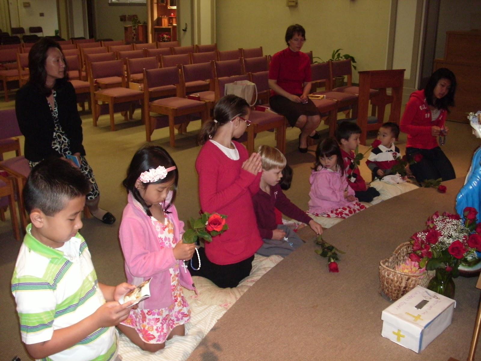childrens rosary photos
