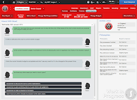 FM14 Board interaction club philosophy