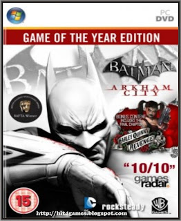 Batman Arkham City Game of the Year Edition PC