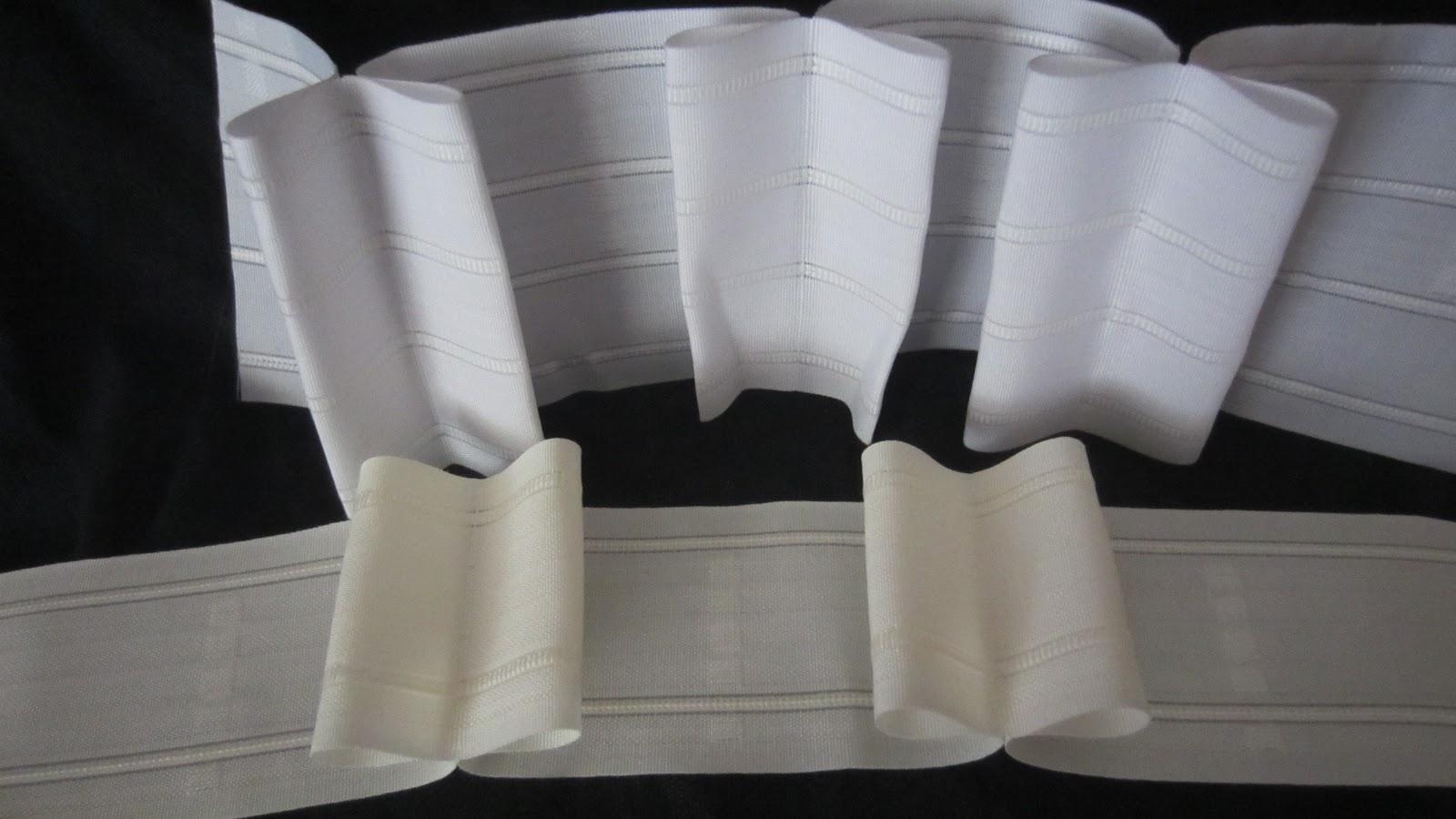 Patrones de costura visillos con tablas marcadas a mano for Anillas con pinza para cortinas