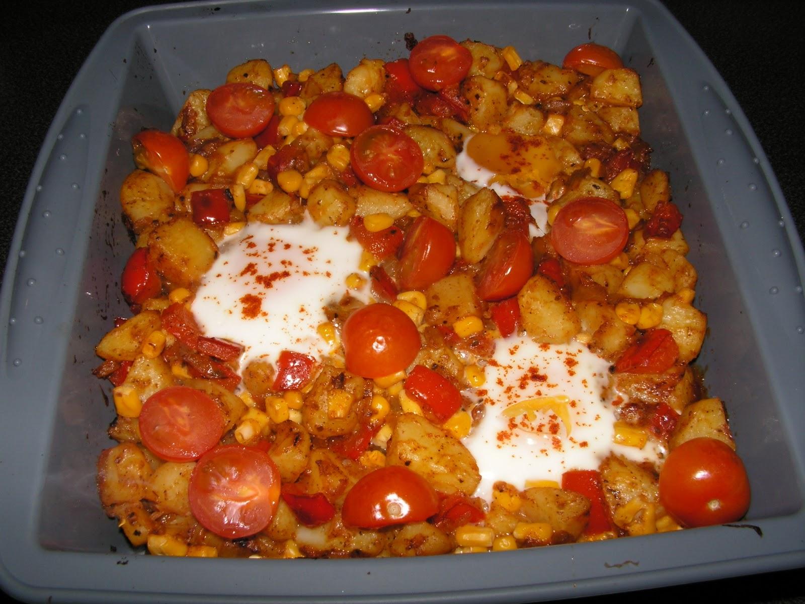 Ziemniaki Z Jajkami Po Meksykansku Blog Kulinarny Z Pysznymi