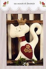 Molde gatinho - Un Mondo di Fantasia