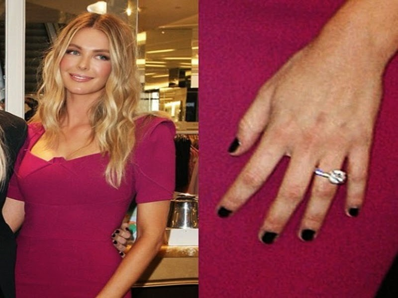 jennifer hawkins engagement ring