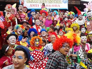 ulang Tahun badut Indonesia ke 40tahun