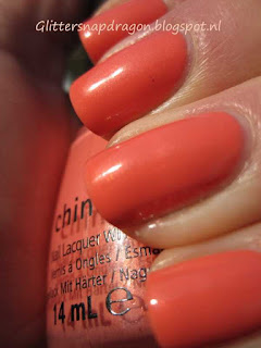 China Glaze Mimosa's Before Mani's