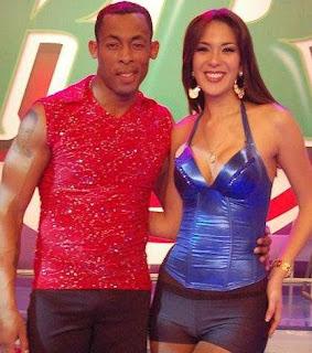 Silvia Cornejo y Percy Olivares