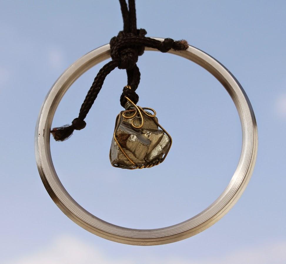 pyrite, steel