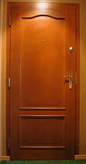 Drzwi wewnątrzlokalowe sosnowe, sklejkowe