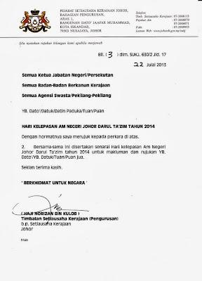 malaysia dan juga takwim cuti peristiwa dan cuti berganti tahun 2014