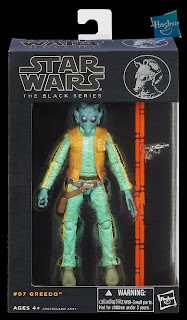 "Hasbro Star Wars The Black Series - Series 2 - 6"" Greedo Figure"