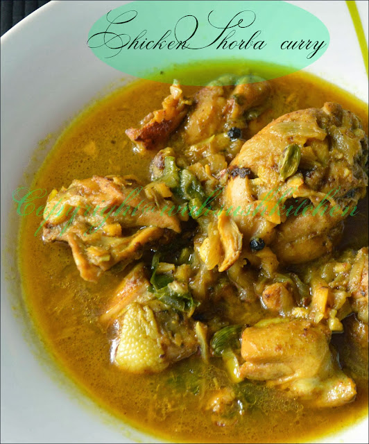 Chicken shorba curry