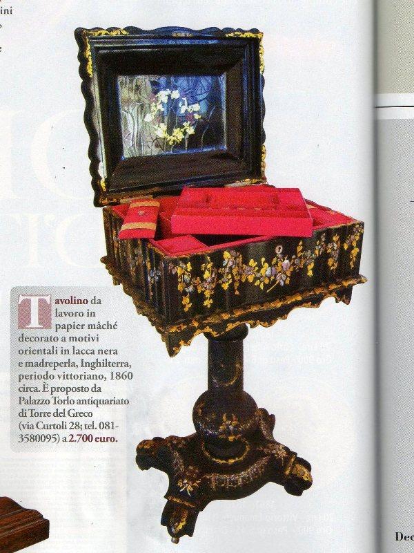 Antiquariato mobili e oggetti antichi maggio 2012 for Mobili del 700