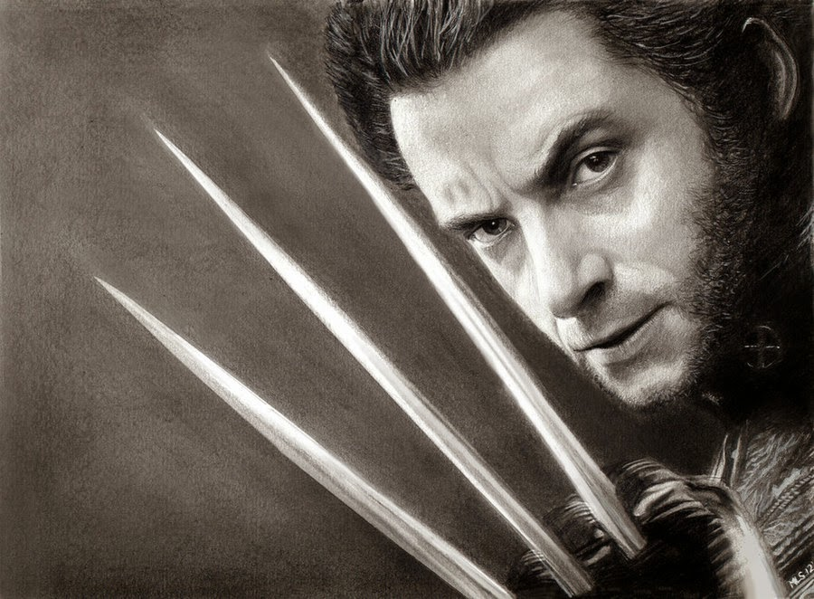 06-Wolverine-Hugh-JackmanMartin-Lynch-Smith-MLS-art-Celebrity-Drawings-www-designstack-co
