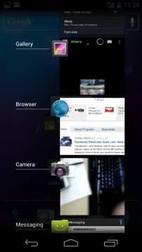 Lista de aplicativos do Samsung Galaxy Nexus