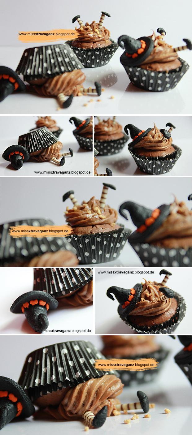 rezept bewitched hexige halloween cupcakes miss von. Black Bedroom Furniture Sets. Home Design Ideas