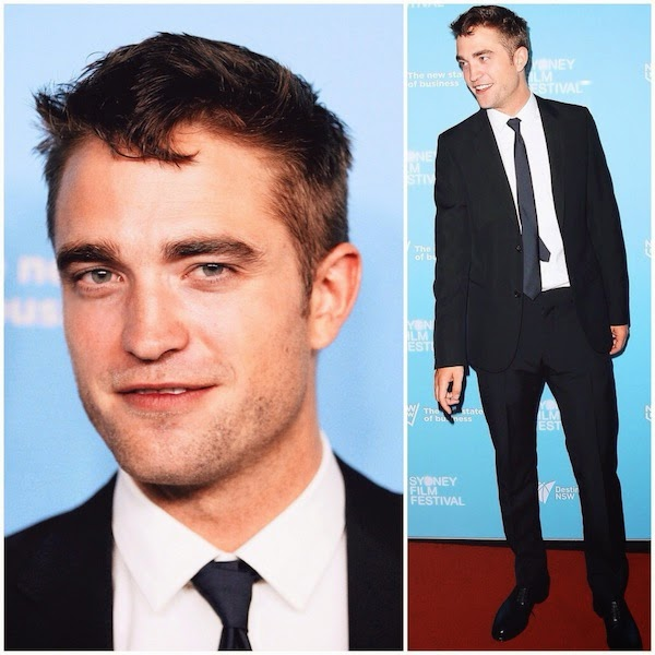 Robert Pattinson Gucci suit Australian Premiere of The Rover State Theatre 7 June 2014 Sydney Australia