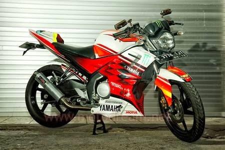 Hasil Modifikasi Yamaha Vixion