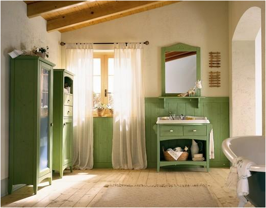 English country bathroom design ideas room design for Images of country bathrooms