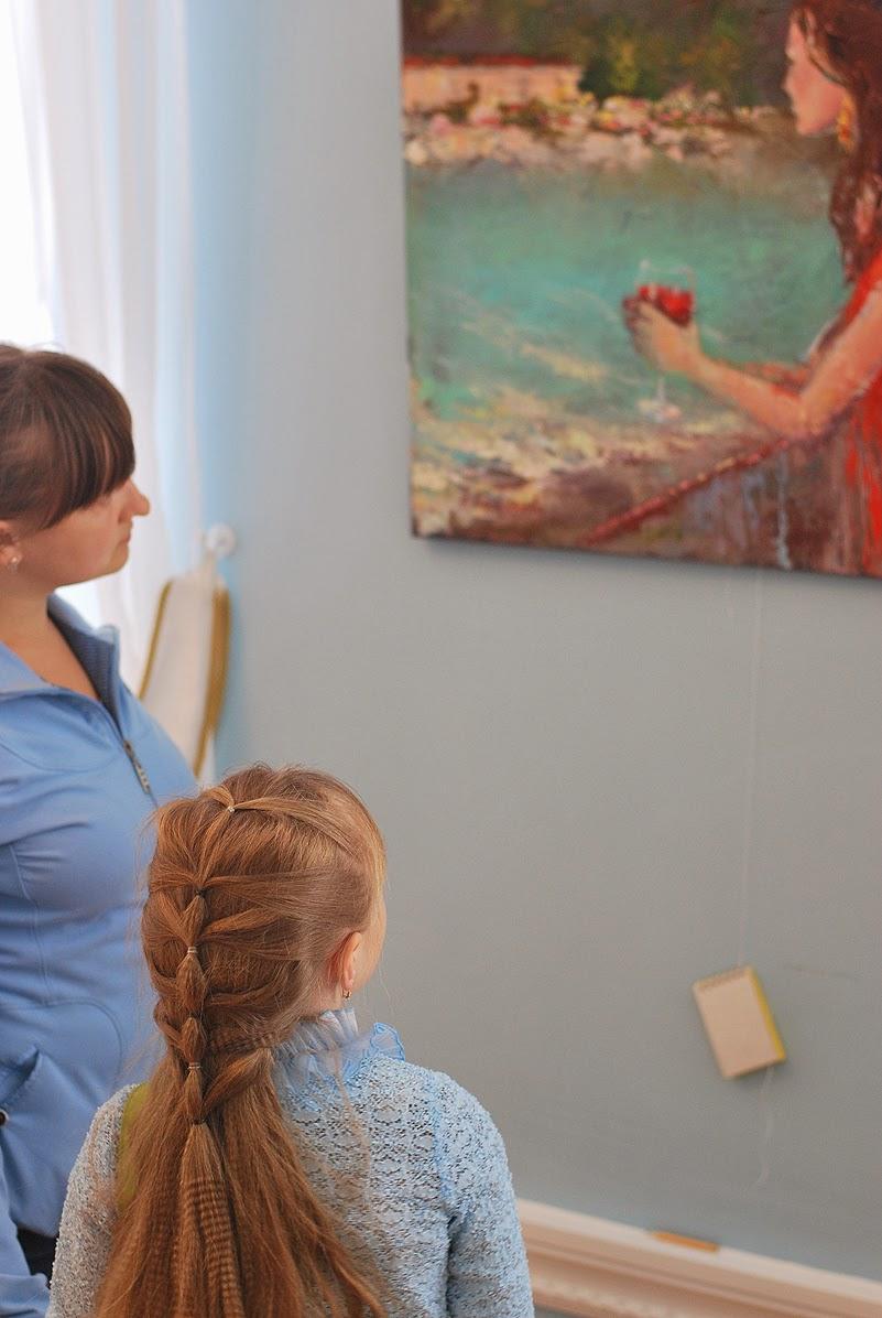 Анна Анисимова - выставка в Лысьве