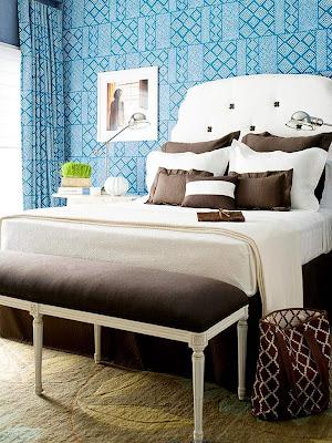 foto de dormitorio en chocolate