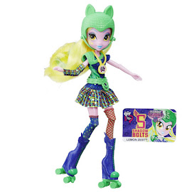 MLP Equestria Girls Friendship Games Sporty Style Deluxe Lemon Zest Doll