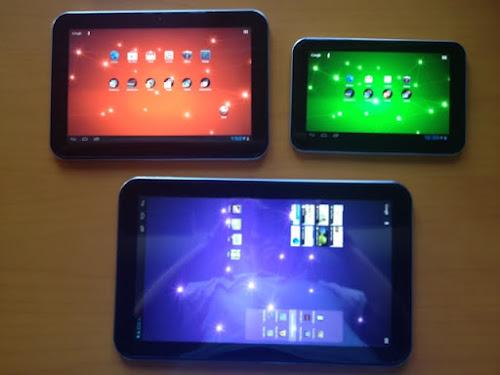 3 Produk Tablet Android Baru dari Toshiba