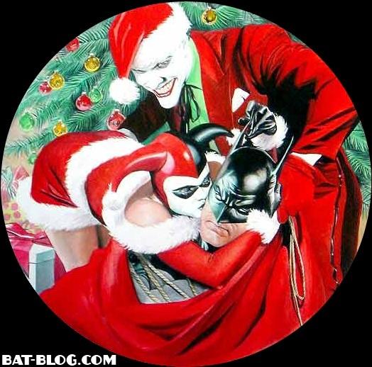 Feliz Navidad 2011 a todos de parte del Malvado Brujo Christmas-plate-batman-joker-harley-quinn-wb-store