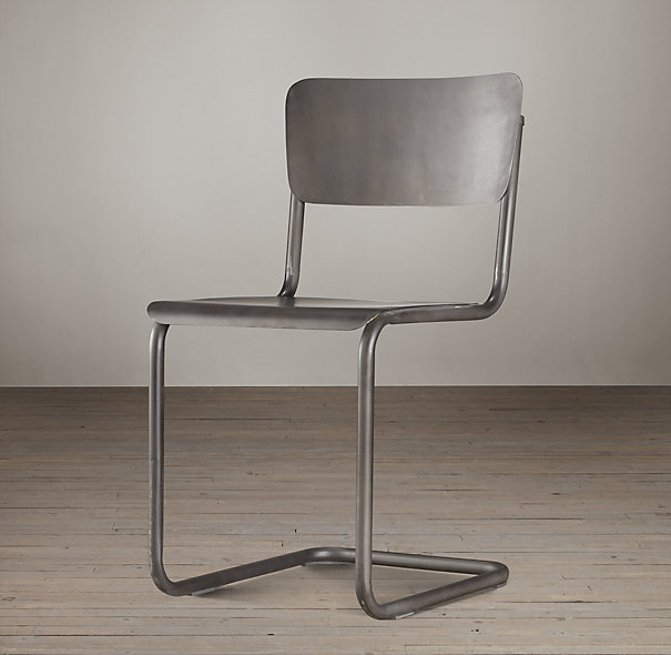 copy cat chic restoration hardware metal schoolhouse chair