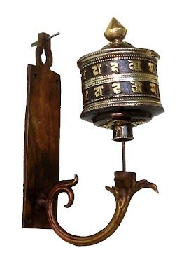 Om Mani Padme Hum Prayer Wheel
