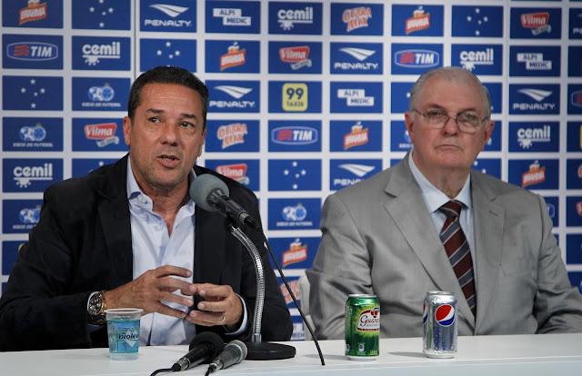 Luxemburgo não é mais técnico do Cruzeiro (Foto: Washington Alves/Light Press)