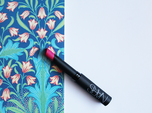 nars carthage pure matte lipstick review swatch