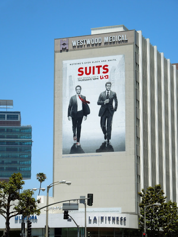 Suits season 2 billboard Westwood
