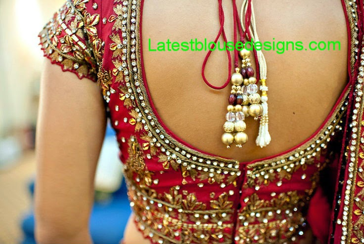 bridal choli designs