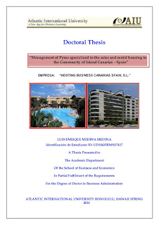 Doctorate of business administration thesis