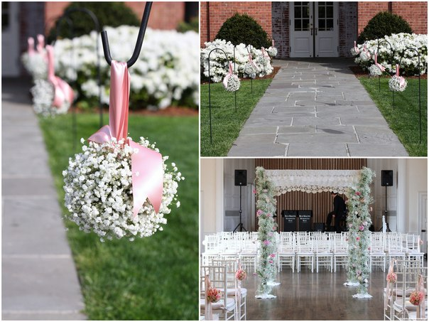 Home wedding decoration ideas romantic decoration for Wedding at home ideas