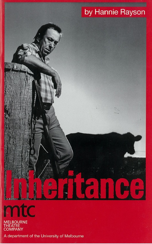 inheritance by hannie rayson essay Hannie rayson's rural family saga inheritance abounds in crusty, battle-scarred  and stoic salt-of-the-earth characters it lacks focus and depth.
