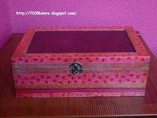 Caja de madera con decoupage - Manualidades con cajas de madera ...