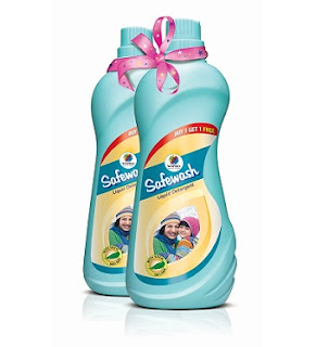 Buy One Get 1 Free Offer on Wipro Safe Wash Mild Detergent Liquid Soap + Extra 20% Off (1 Kg for Rs.112 and 2 Kg for Rs.212)