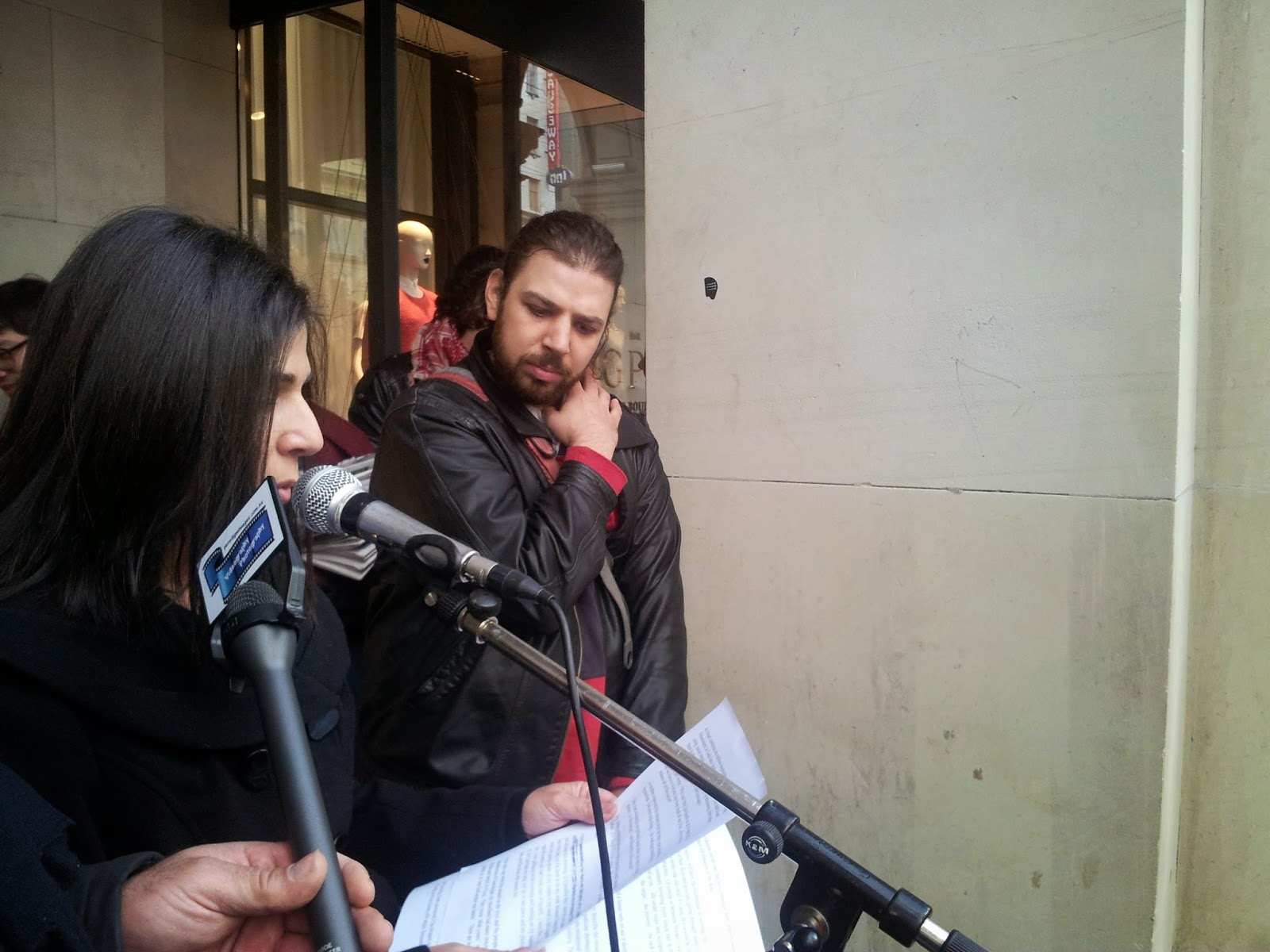 live from occupied photo essay melbourne rally against all photos by kim bullimore