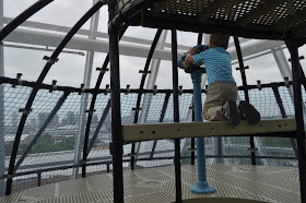 Adventure Tower, looking out over Nashville. Adventure Science Center, TN. Travel Writers' Guide: 50+ Best Science Museums Around the World