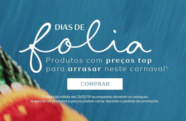 Já é Carnaval na Natura! Faça a festa com os produtos em promoção!