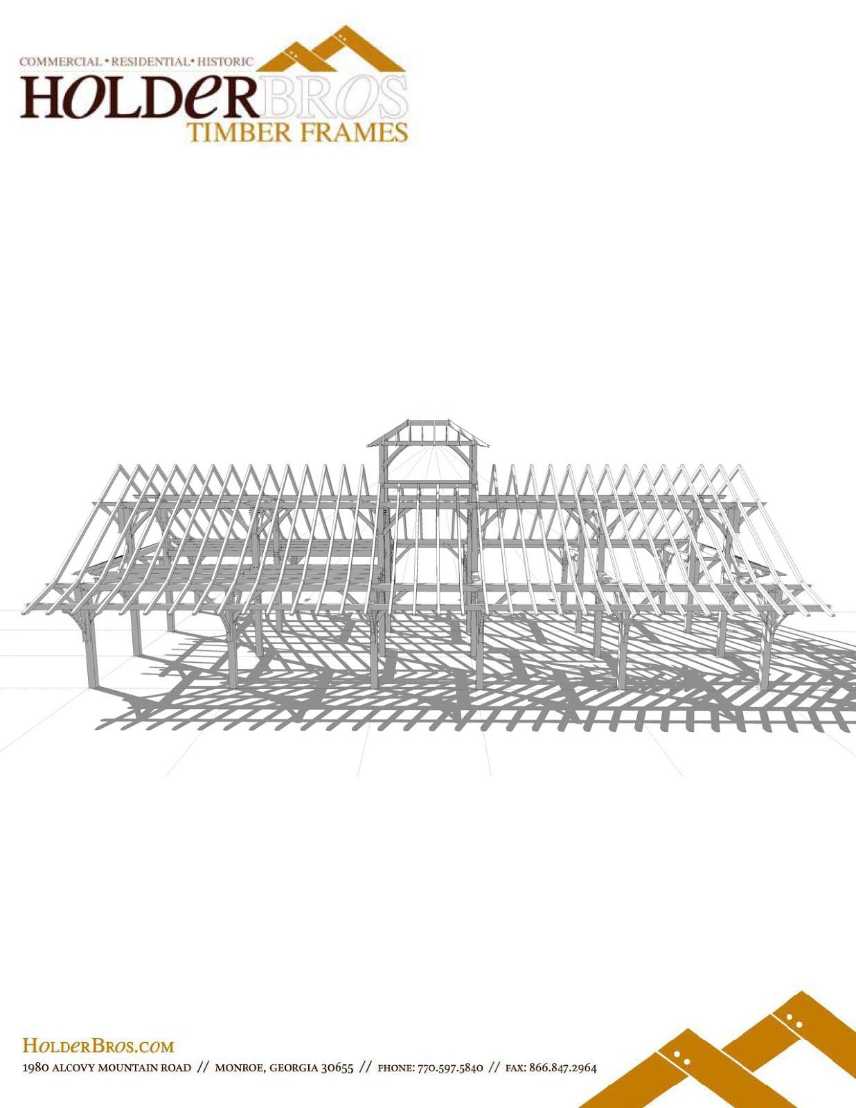 A traditional timber framing blog...