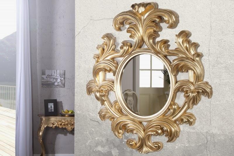 dizajnove zrkadla na stenu, moderne barokove zrkadla, velke zrkadlo do chodby