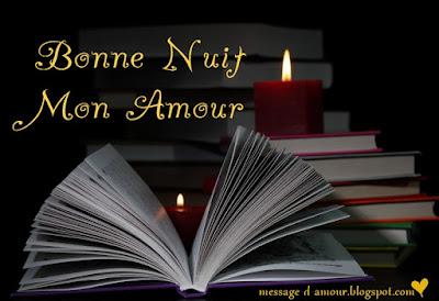 Petit message d'amour bonne nuit mon amour