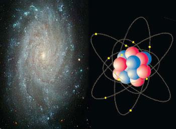 Resultado de imagen de Desde los átomos a las estrellas