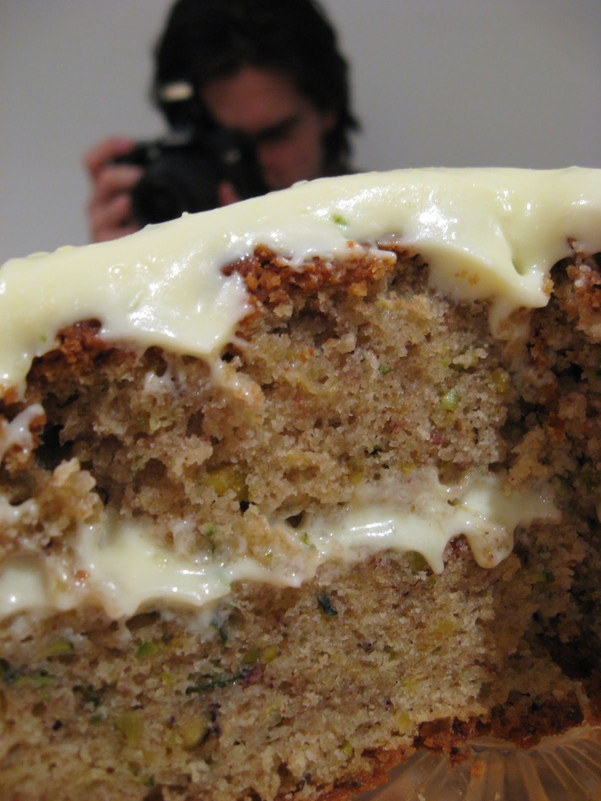 Pin Zucchini cake picture to pinterest.